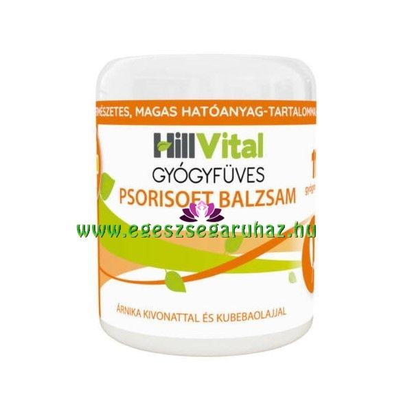HillVital gyógyfüves Psorisoft pikkelysömör balzsam