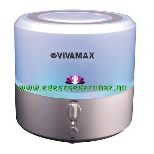 PLUMP ultrahangos aroma diffúzor, illóolaj párologtató 7 színű LED világítással, 10 órás üzemidővel