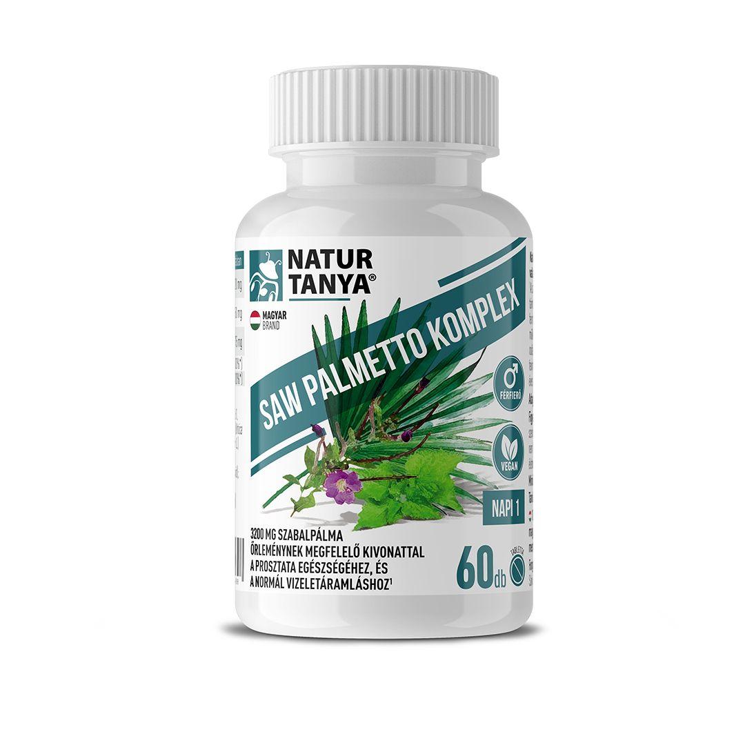 Natur Tanya® Szerves Saw Palmetto - Férfiegészség: prosztata, libidó, kopaszodás