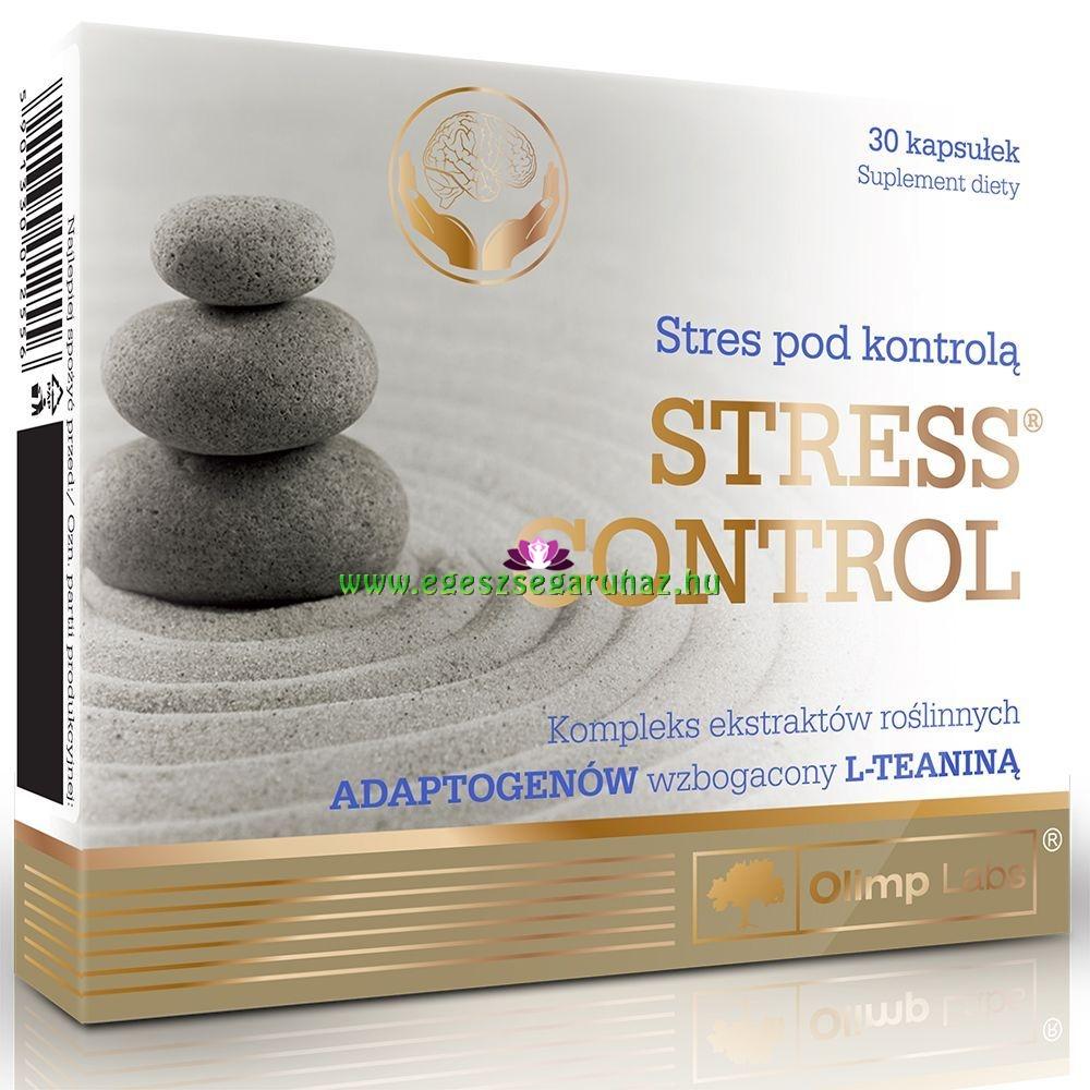 Stressz control kapszula - stresszcsökkentő