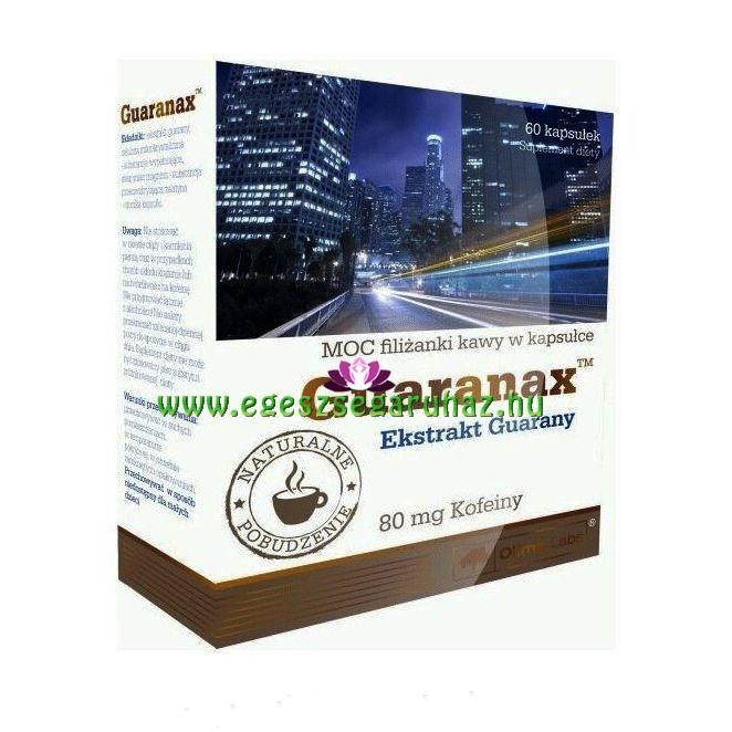 Guaranax™ Guarana kapszula - növényi koffein