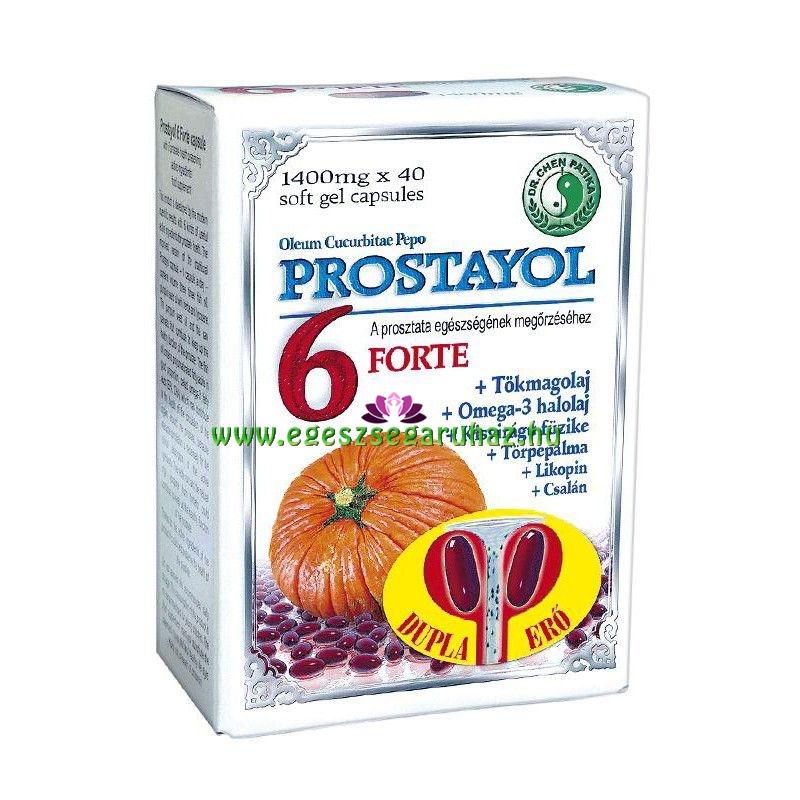 prosztata egészségéért