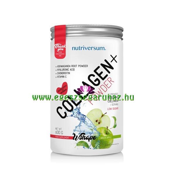 NUTRIVERSUM Collagen+ - Kollagén por 10.000 mg Kollagén tartalommal!